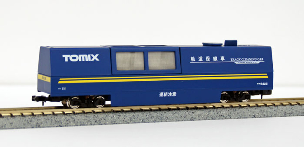 Tomix 6425 Track Cleaning Car set rotaie PULIZIA CARRELLO Aspirapolvere NUOVO OVP