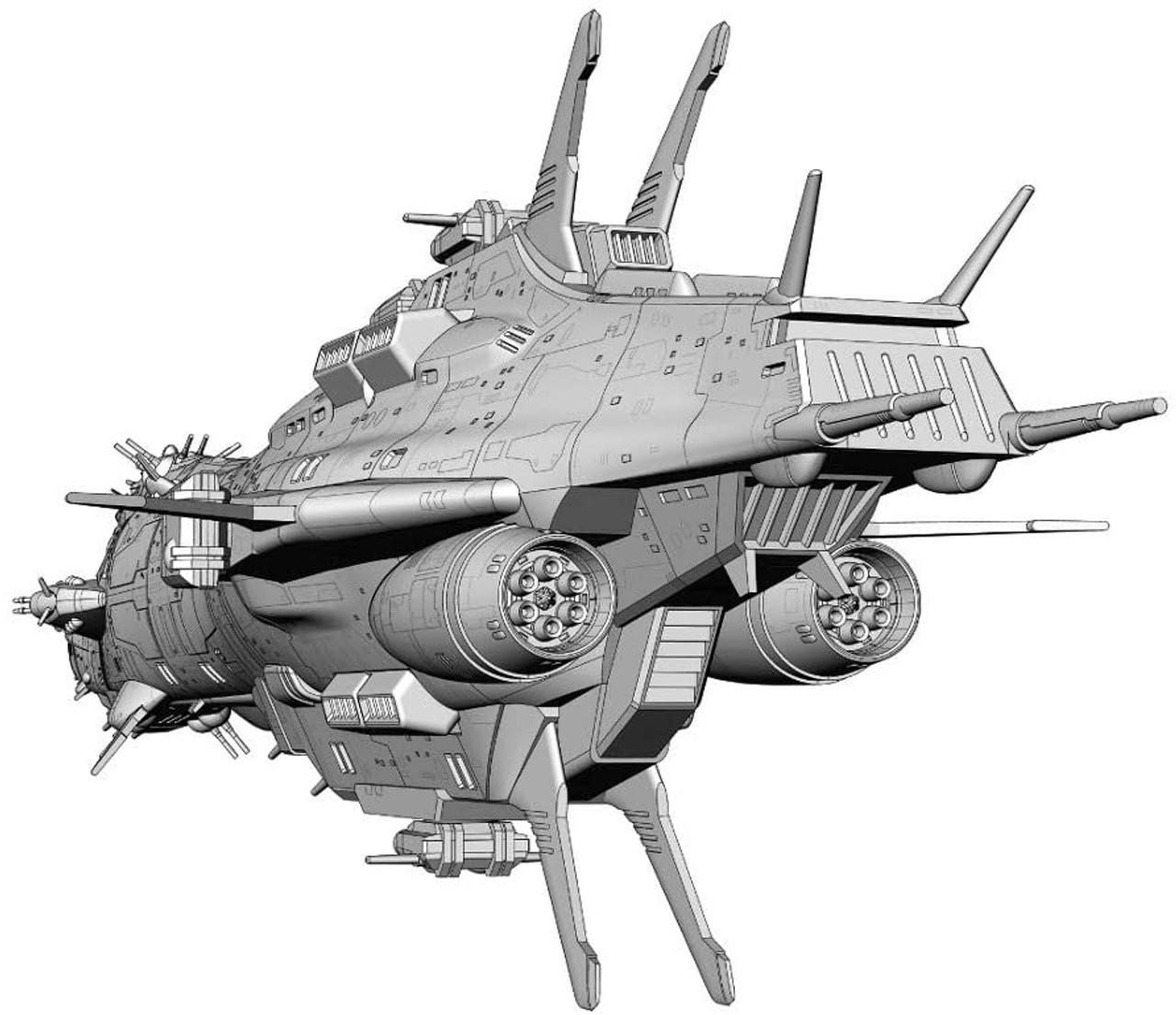 Creator Works Series Crusher Joe Cordoba 1//3000 Plastic model kit CW19