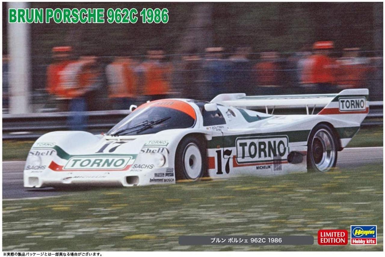 1986 WSPC 20445 Hasegawa 1//24 Porsche 962C ++