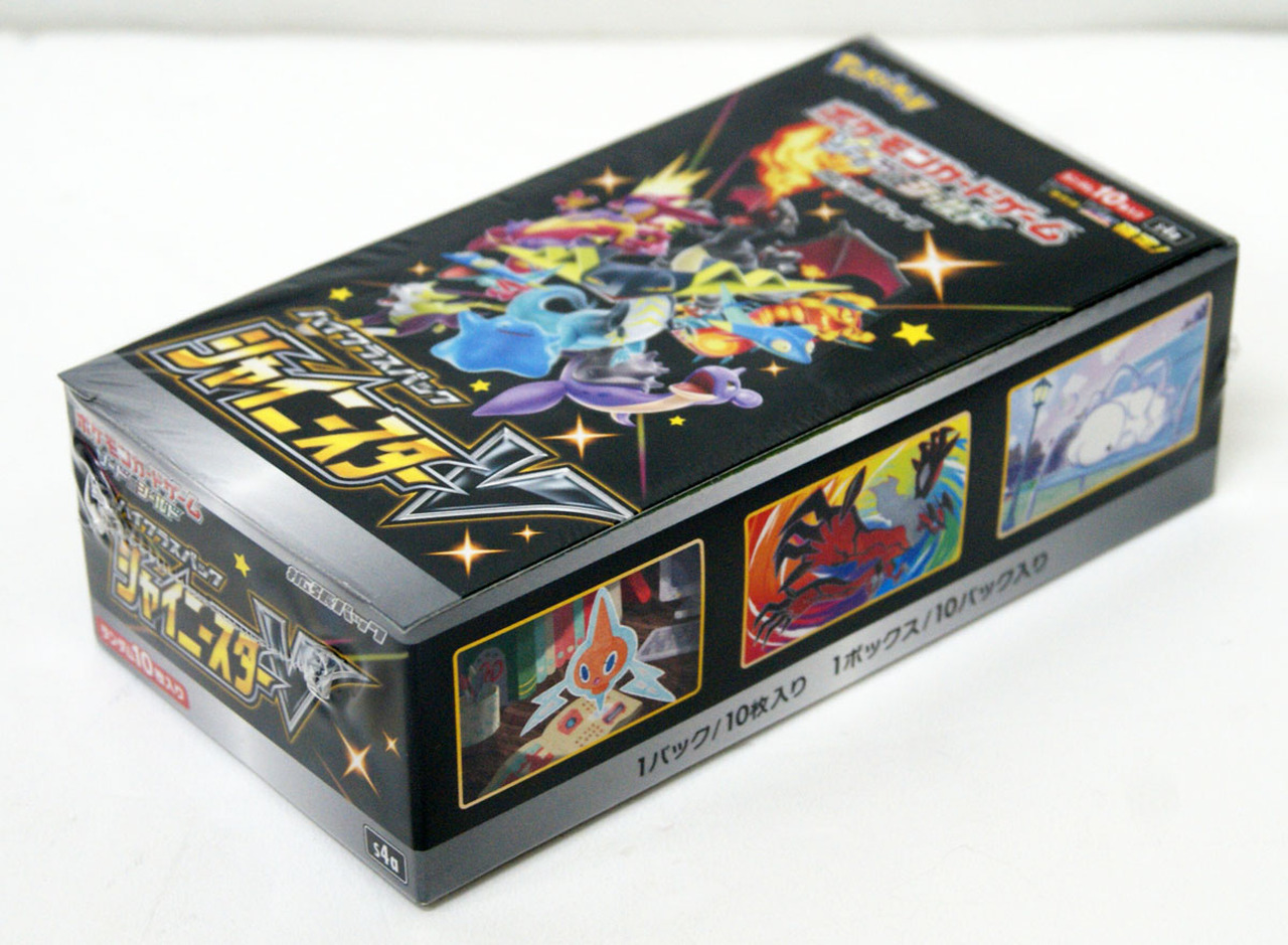 Shiny Star V Pokemon Booster Box *US In hand* Japanese Sword /& Shield S4a
