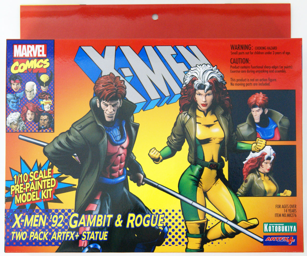 ARTFX 1//10 Kotobukiya Japan NEW X-MEN Rogue MARVEL NOW