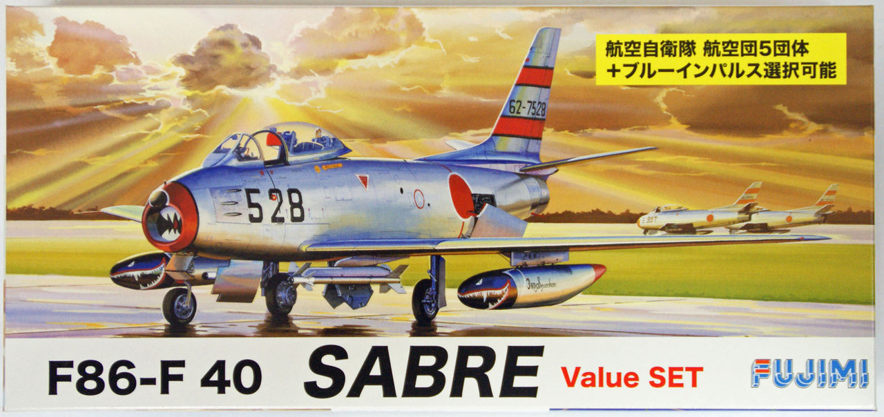 AEREO 1:100 North American F-86F Sabre JASDF Blue Impulse Japan 41