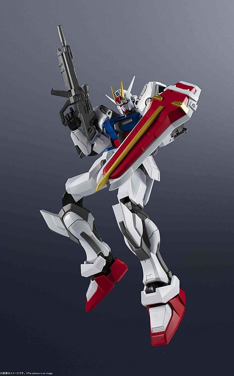 Bandai FW Gundam Converge #20 236 Aile Strike Gundam Seed GAT X105 mini figure