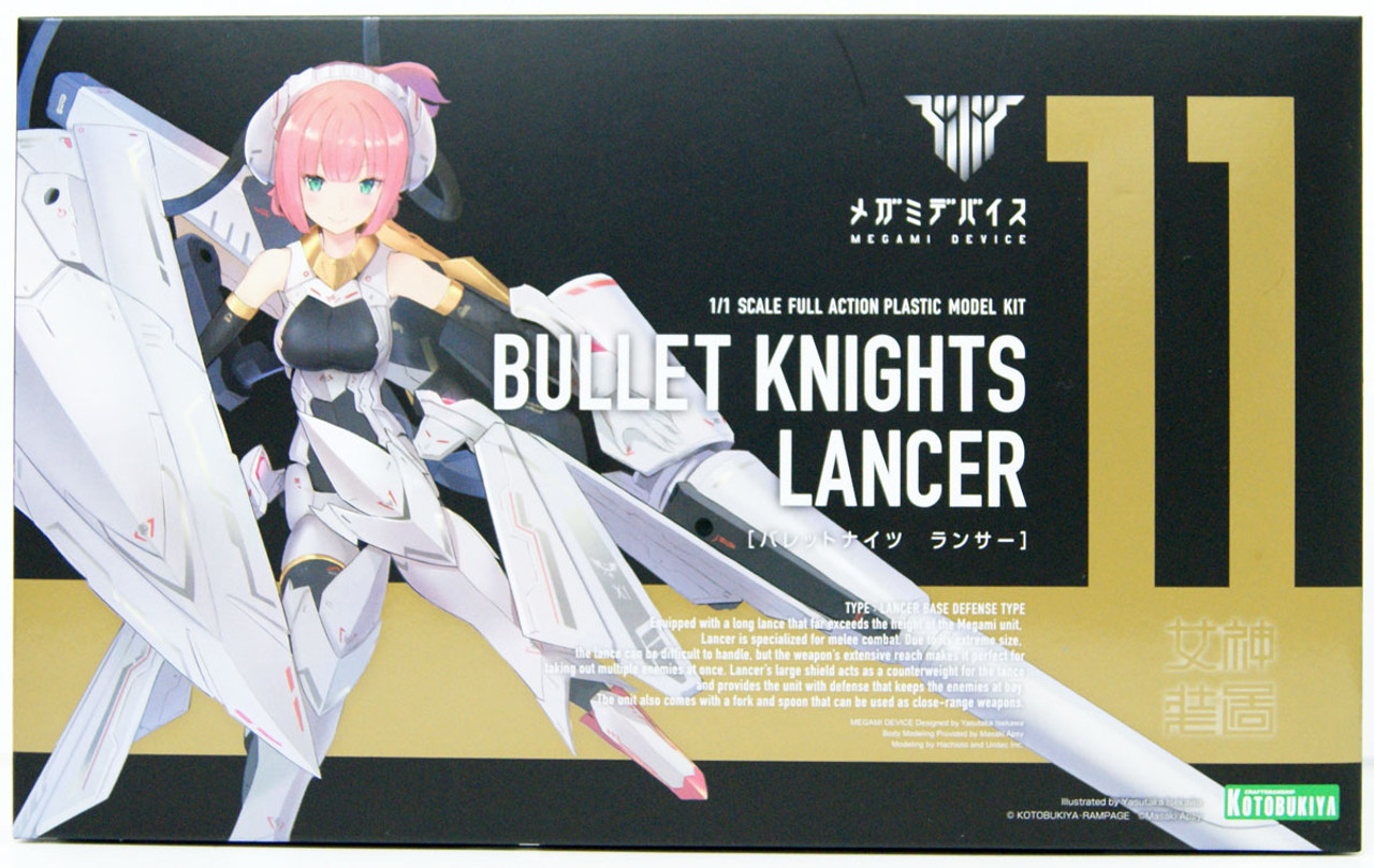 KOTOBUKIYA PLASTIC MODEL KITS Megami Device-Bullet Chevaliers lanceur