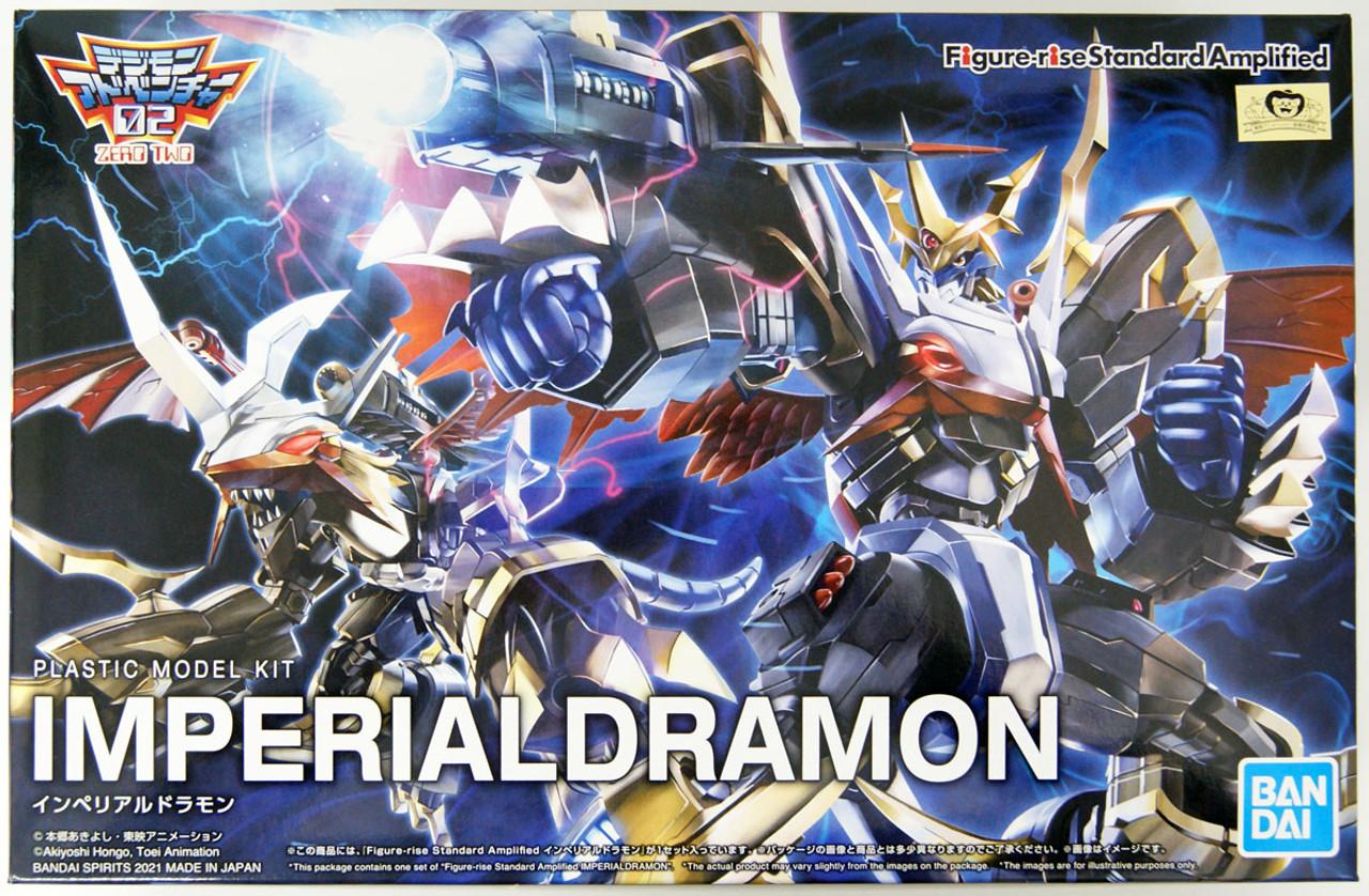 Plastic Model Bandai Figure-Rise Standard Digimon Imperialdramon Amplified
