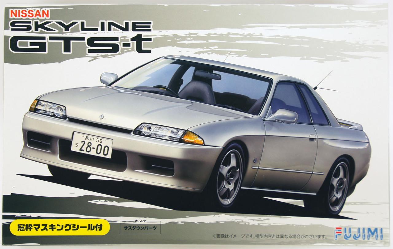 4 Door Fujimi ID-131 1//24 Scale Model Sports Car Kit Nissan Skyline GTS R31 H.T
