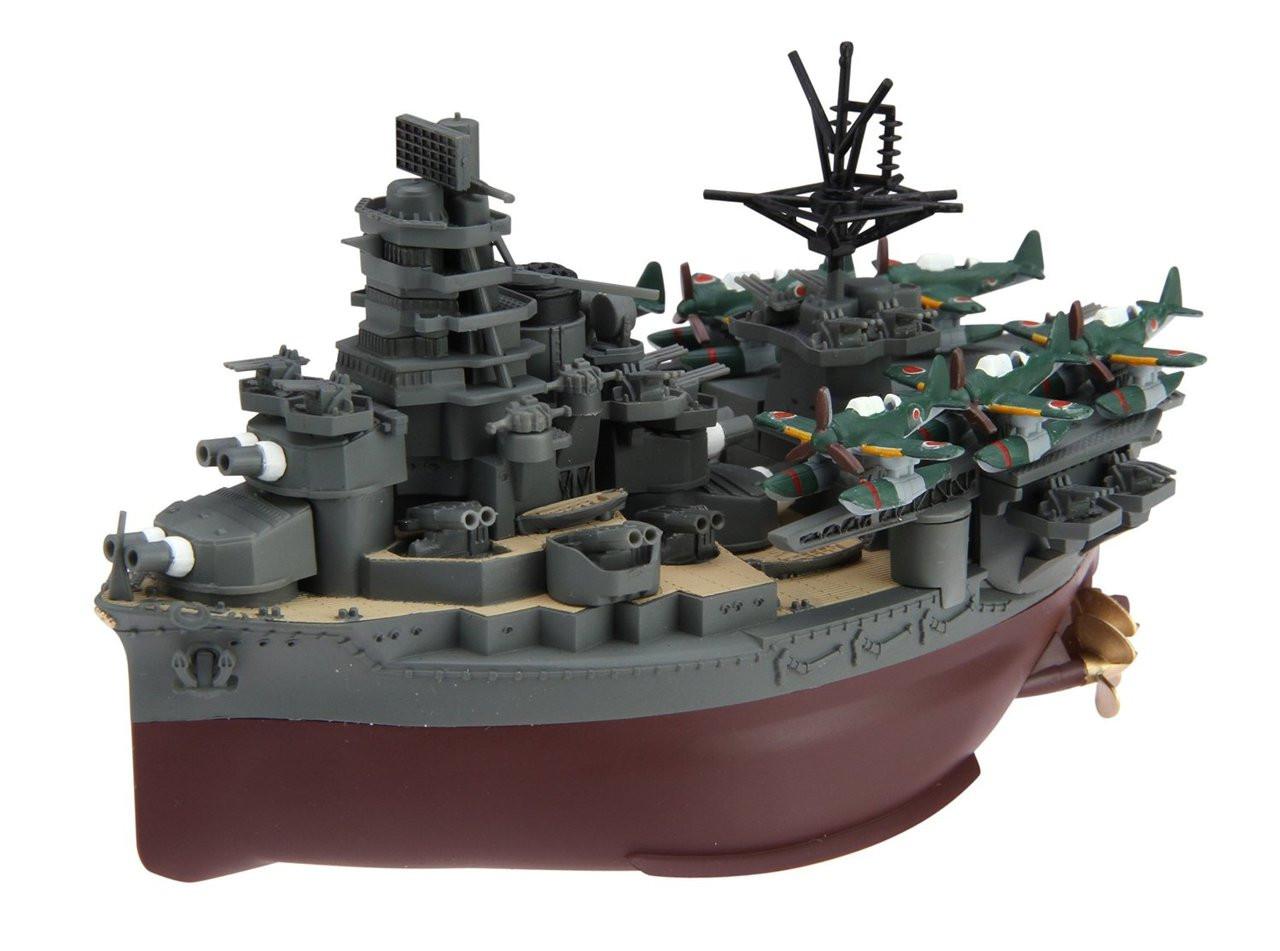 "Fujimi TK32 Chibi-maru Kantai Fleet IJN /""Yamashiro/"" non-scale Aircraft Carrier"