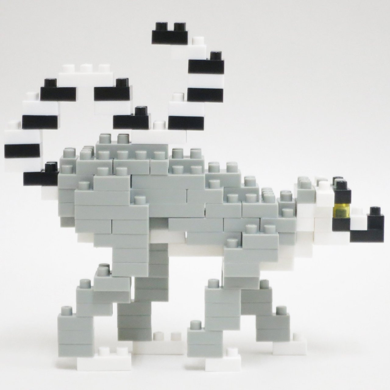 nanoblock NBC/_166 Ring-tailed Lemur