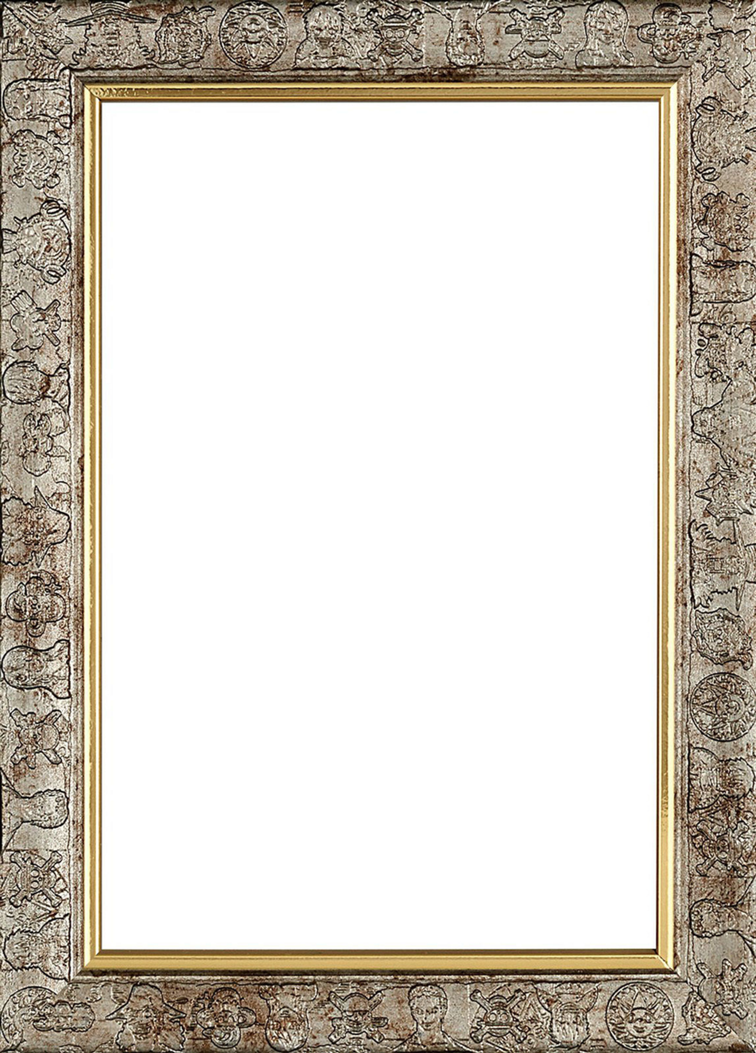 Ensky Jigsaw Puzzle Frame for 126 Pieces One Piece Jigsaw (10x14.7cm ...