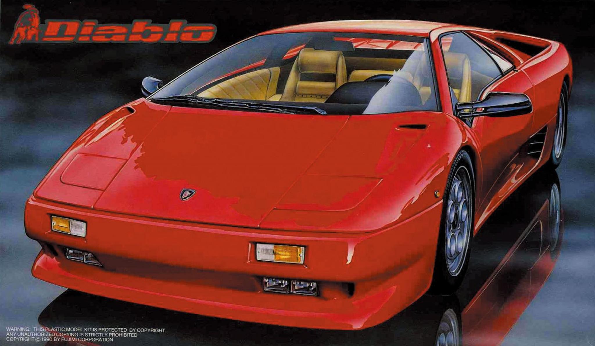 Fujimi Rs 21 Lamborghini Diablo 1 24 Scale Kit 124216 Plaza Japan