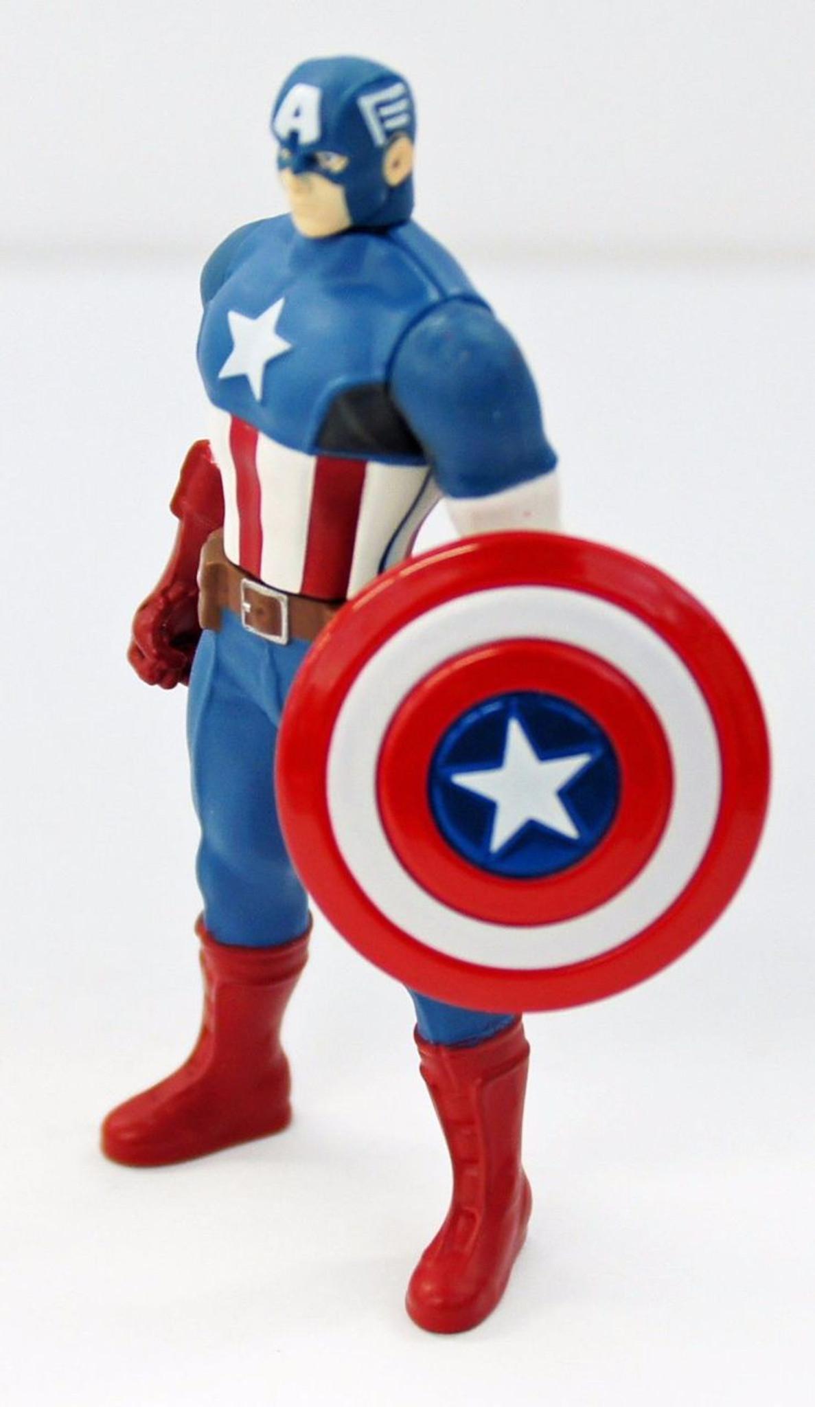 Chogokin Mini Metal Figure Diecast CAPTAIN AMERICA AVENGERS Marvel Takara Tomy
