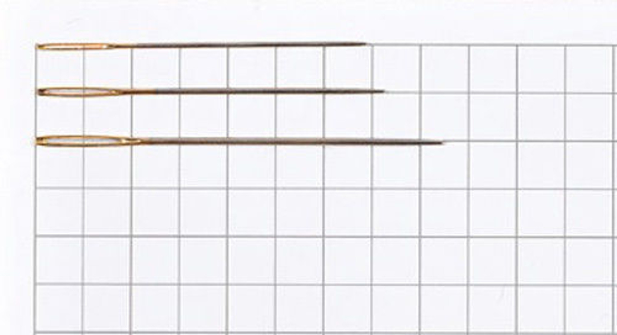 Tulip TBN-004 Beading Needles #12 Long Slightly 2 pcs // 0.35 x 47.5mm