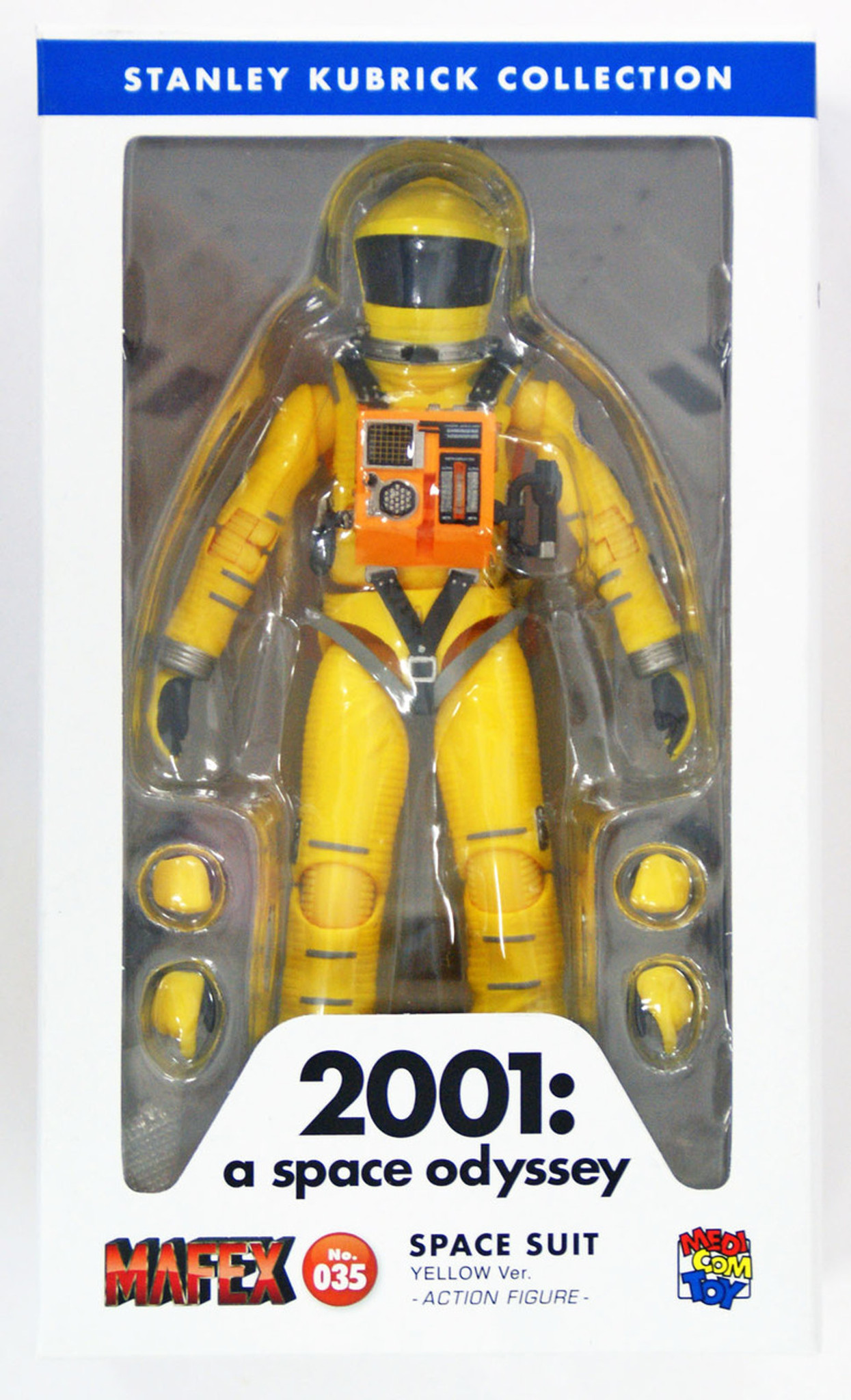 9ef59149 Medicom MAFEX 035 Space Suit Yellow Version 2001 A Space Odyssey  4530956470351 - Plaza Japan