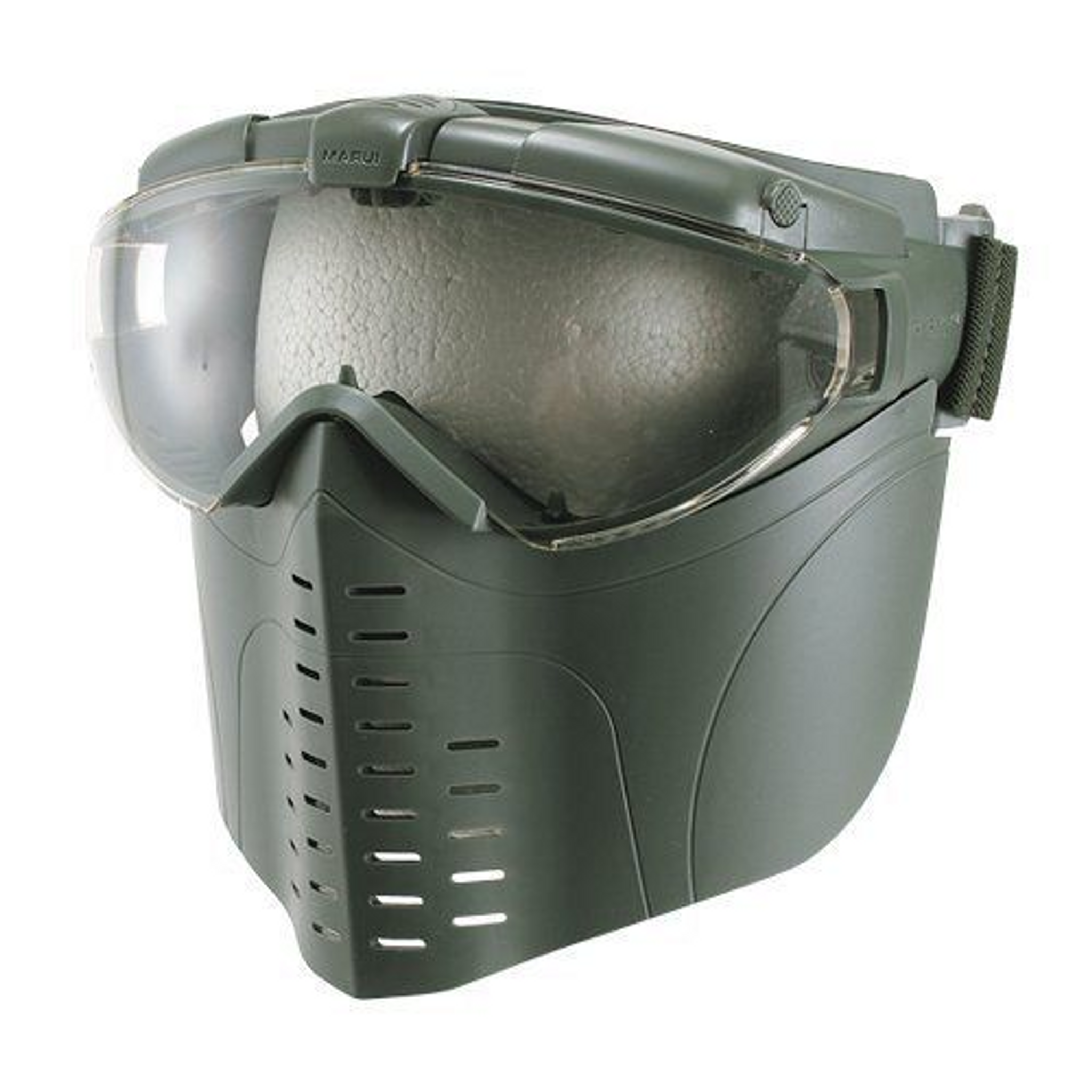 Tokyo Marui Pro Goggles Fan Ventilation Full Face Green 151087 Genuine Parts