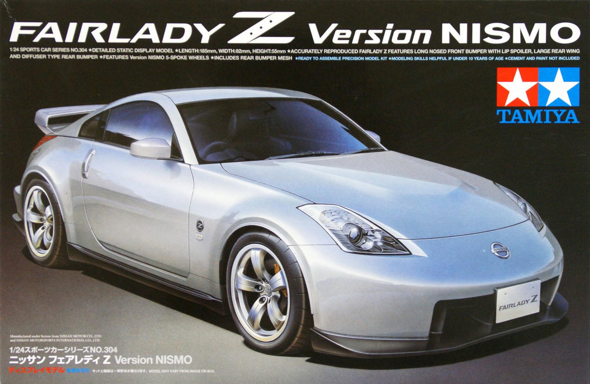 Nissan Fairlady Z >> Tamiya 24304 Nissan Fairlady Z Version Nismo 1 24 Scale Kit Plaza