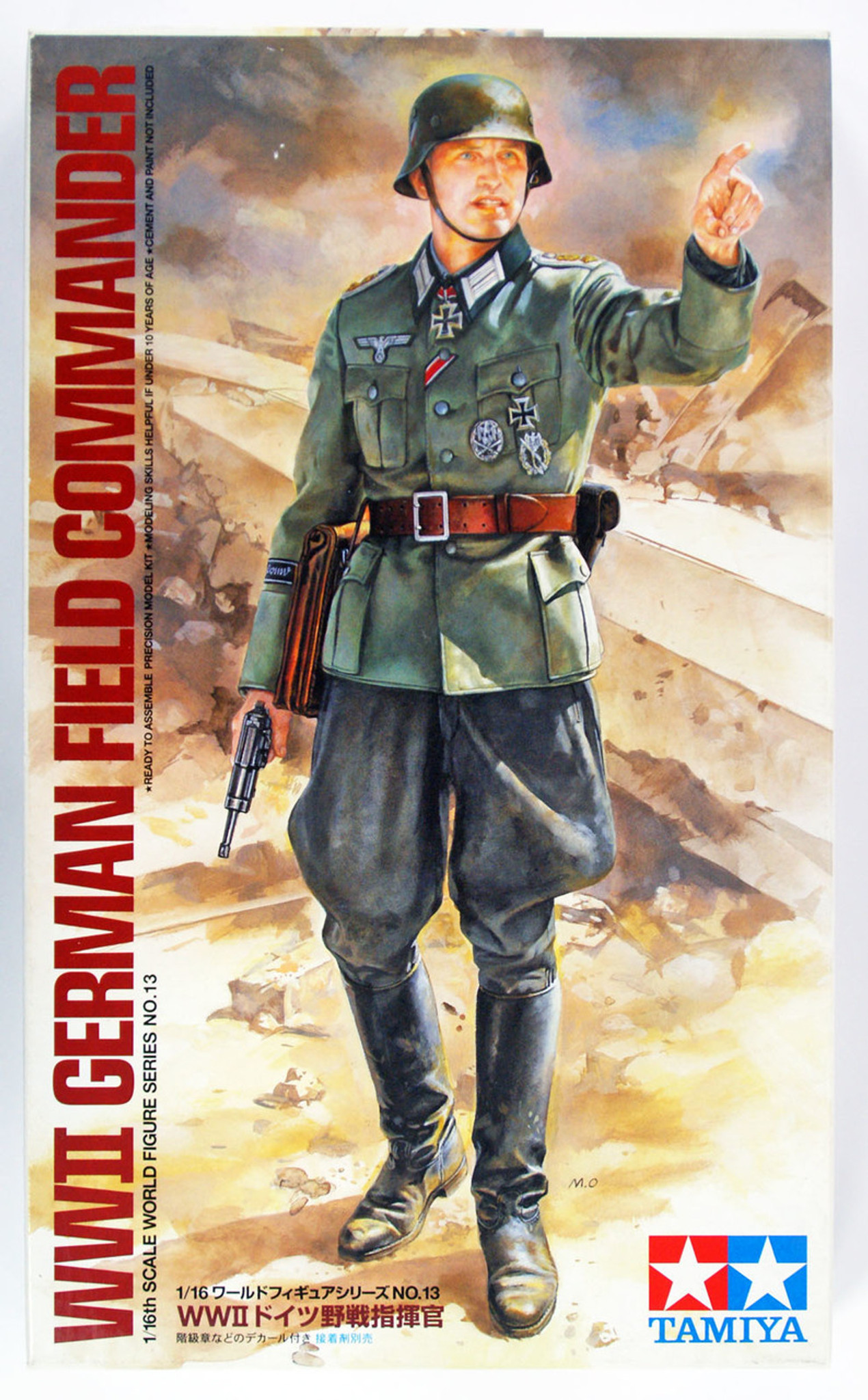 Tamiya Military Model 1//16 German Feldmarschall ROMMEL Figure Scale Hobby 36305