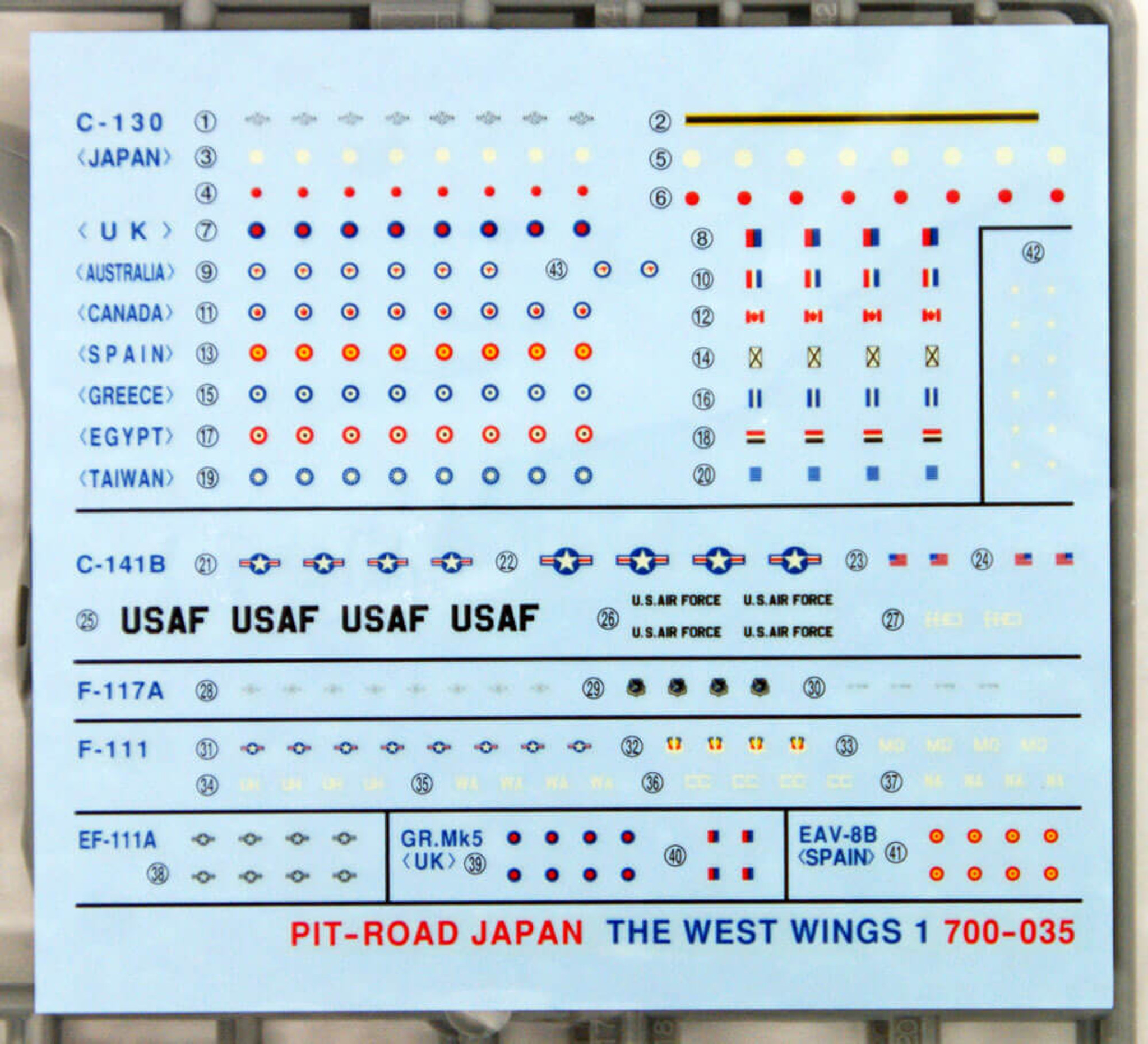 PIT-ROAD Skywave S-13 The West Wings 3 1//700 scale kit
