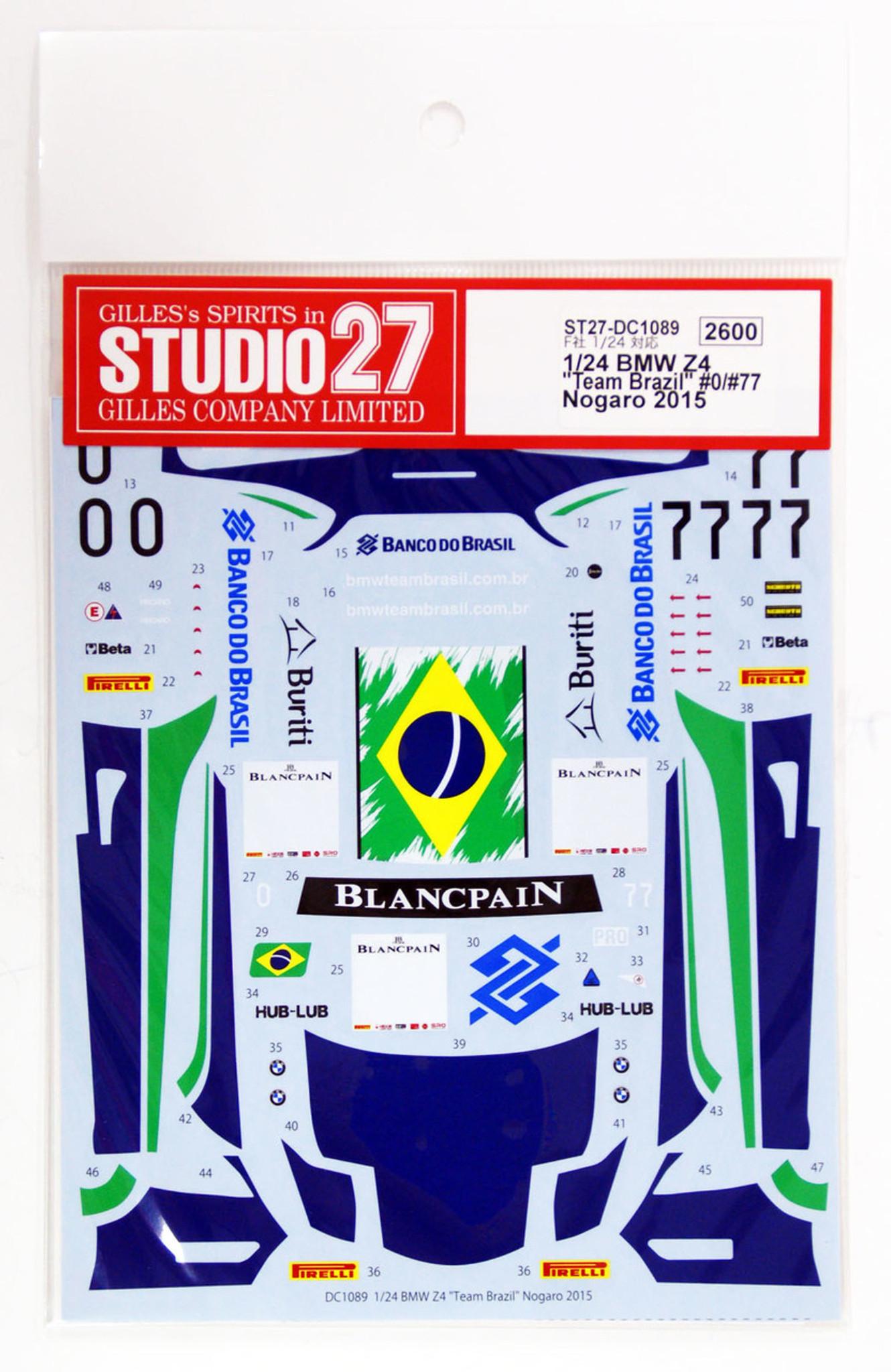 Studio27 St27 Dc1089 Bmw Z4 Team Brazil 0 77 Nogaro