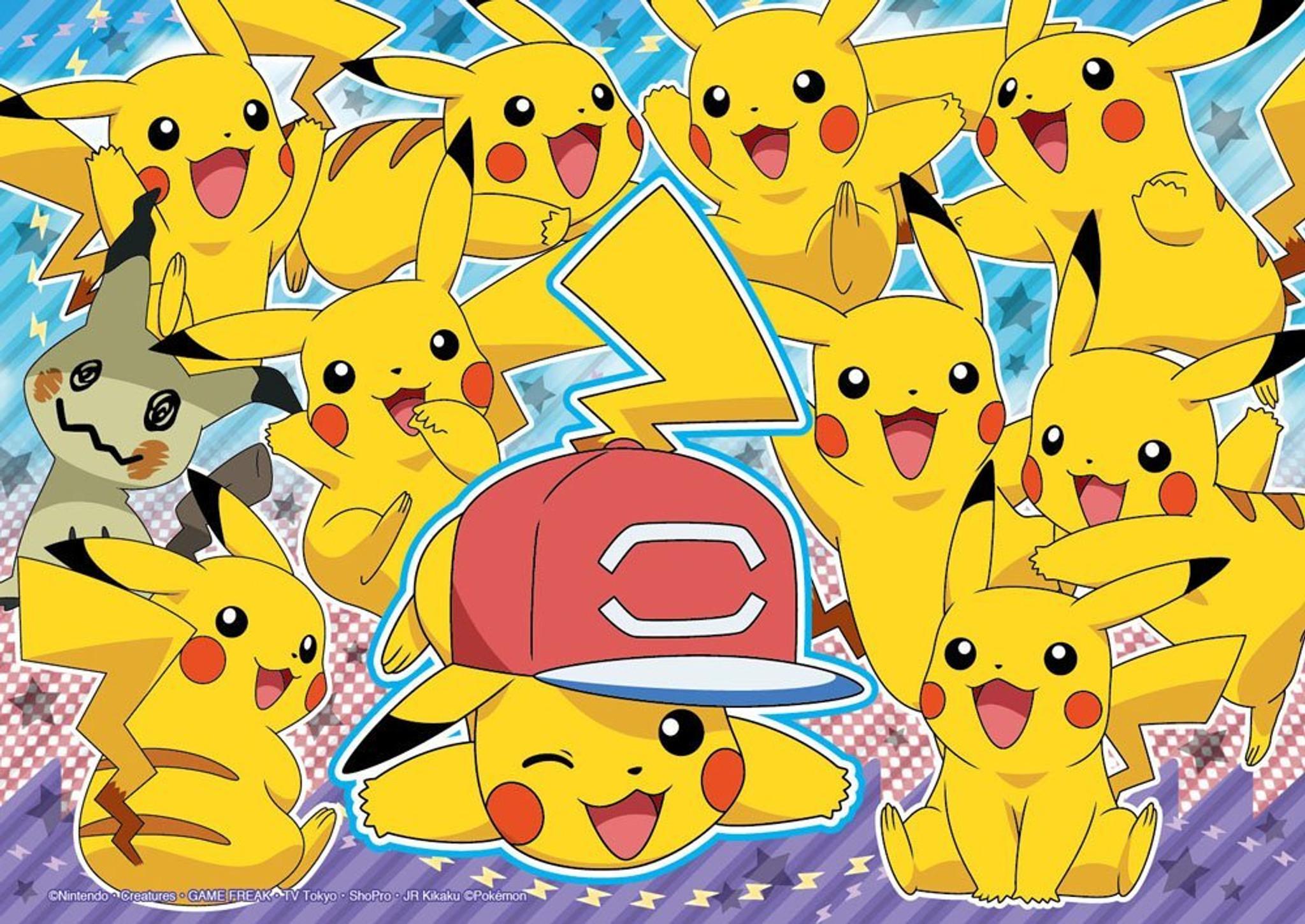 A Pikachu and Mimikyu puzzle
