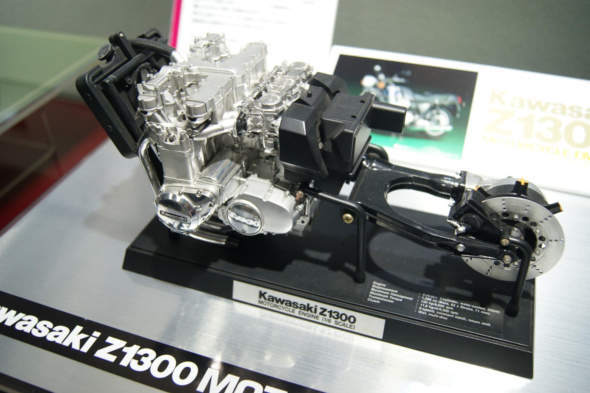 Tamiya Kawasaki Z1300 Motorcycle Engine 1/6 kit | PlazaJapan