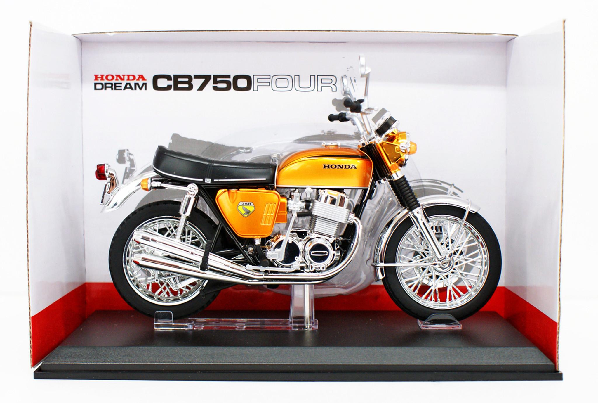 Police motorcycle 1//12 Scale Finished Aoshima Skynet 104651 Honda CB750FOUR K0