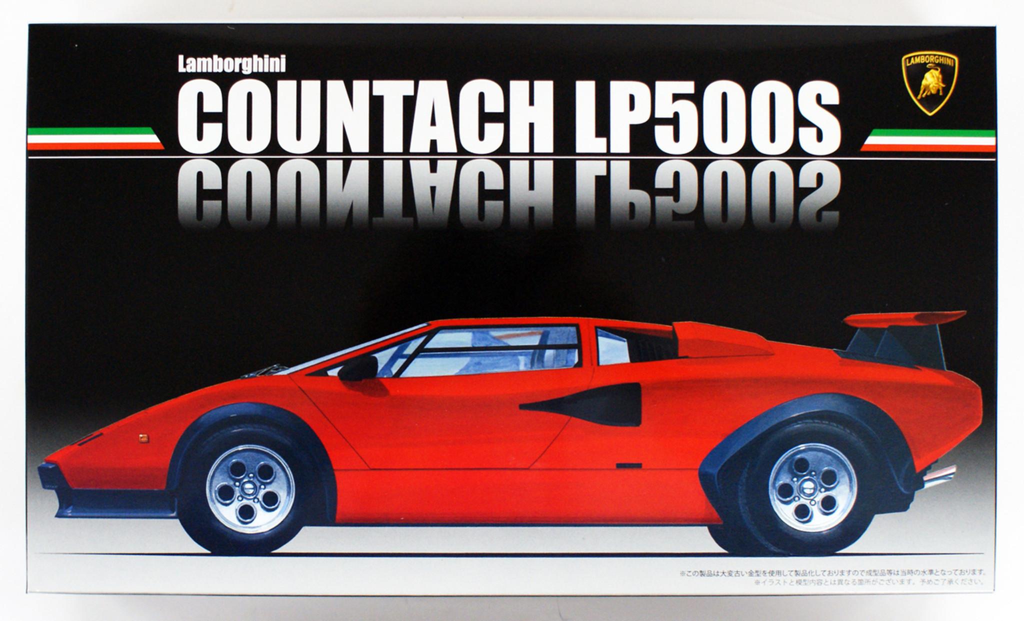 Fujimi Rs 12 Lamborghini Countach Lp500s 1 24 S Plazajapan