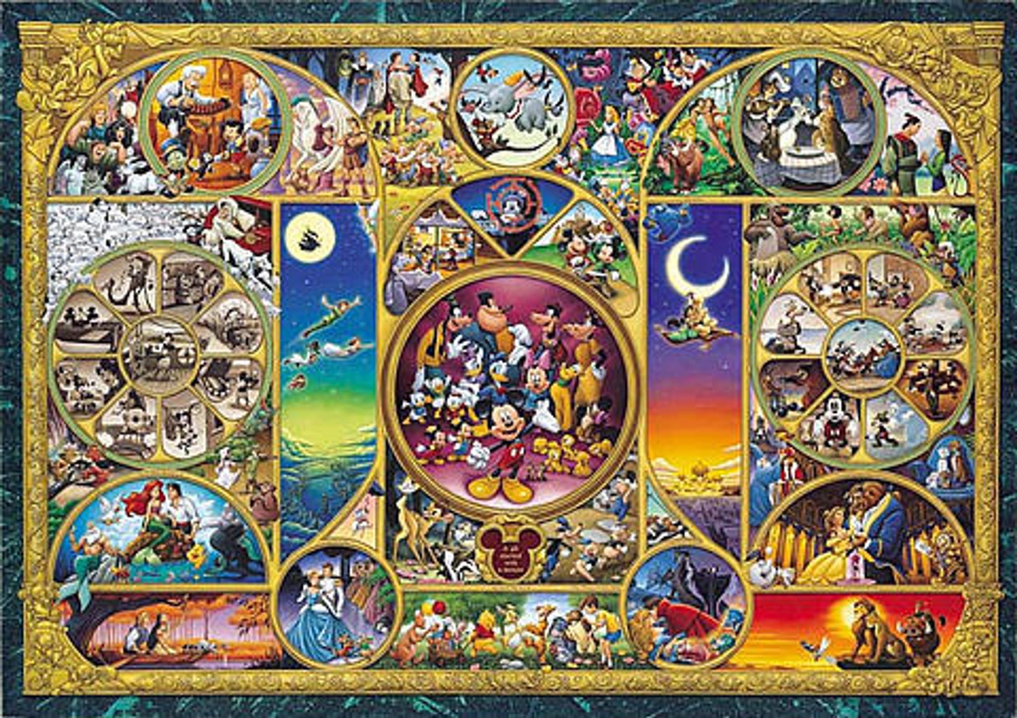 1000 S-Pieces Tenyo Japan Jigsaw Puzzle DW-1000-393 Disney Mickey Flower Shop