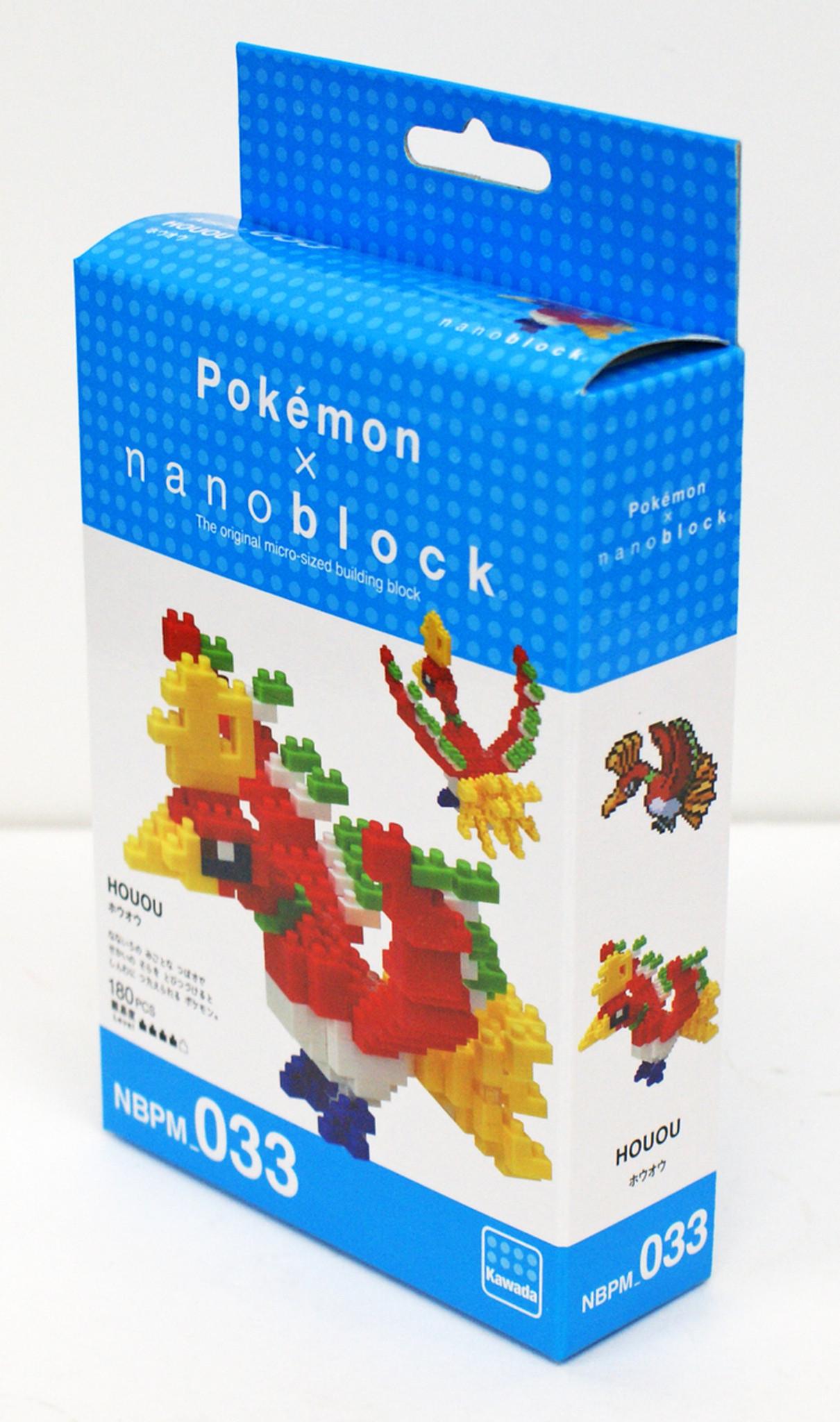 Nano-block Pokemon Ho-Oh NBPM/_033