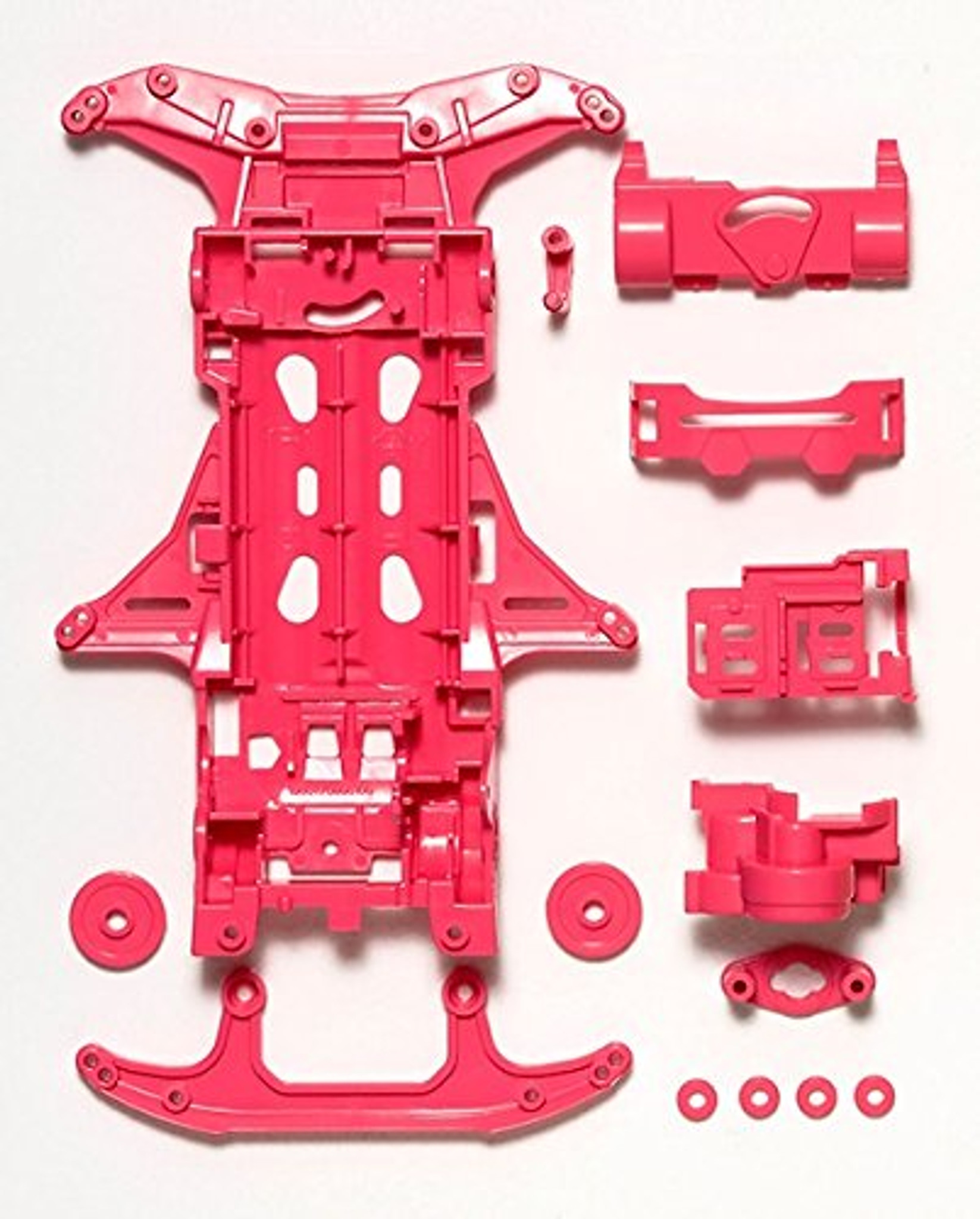 Tamiya 95250 1//32 Mini 4WD Mini 4WD Product  AR Chassis Red