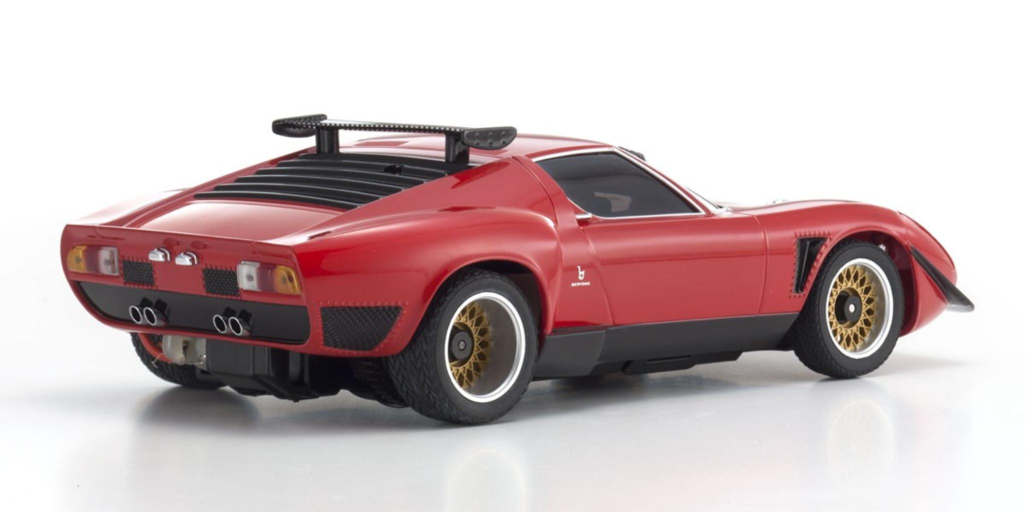 Kyosho Mini Z Mzp151r Lamborghini Jota Svr Red