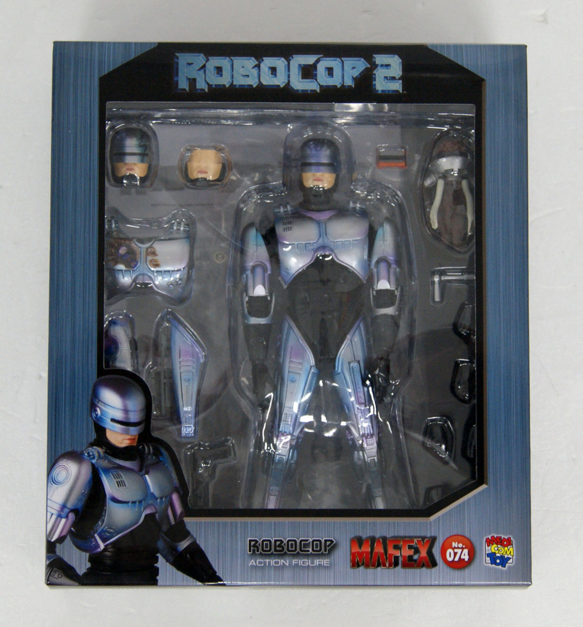 US SELLER 100/% AUTHENTIC! FREE SHIP MEDICOM MAFEX ROBOCOP 2 NO.074