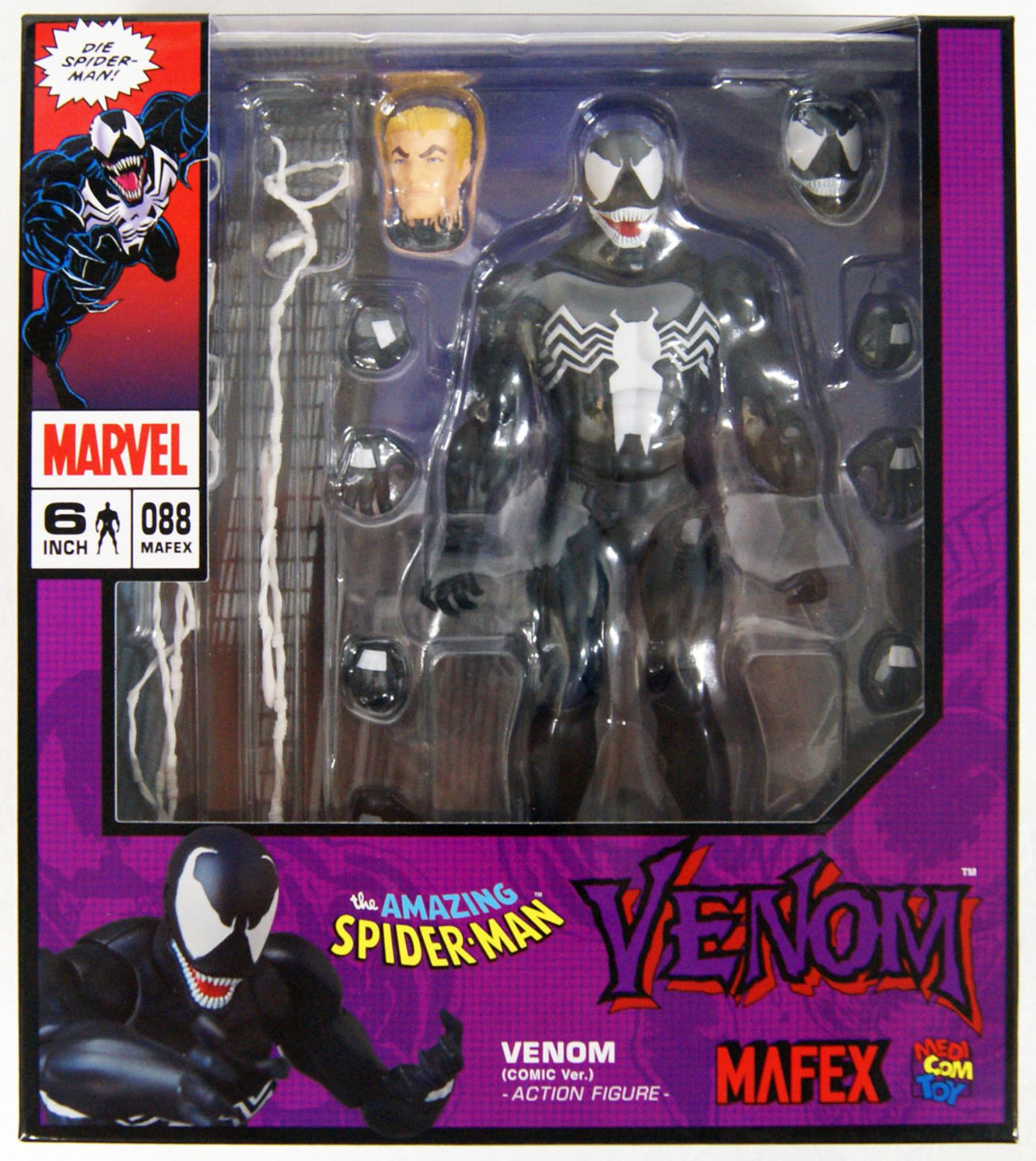 Medicom MAFEX 088 Venom Figure (Comic Ver )