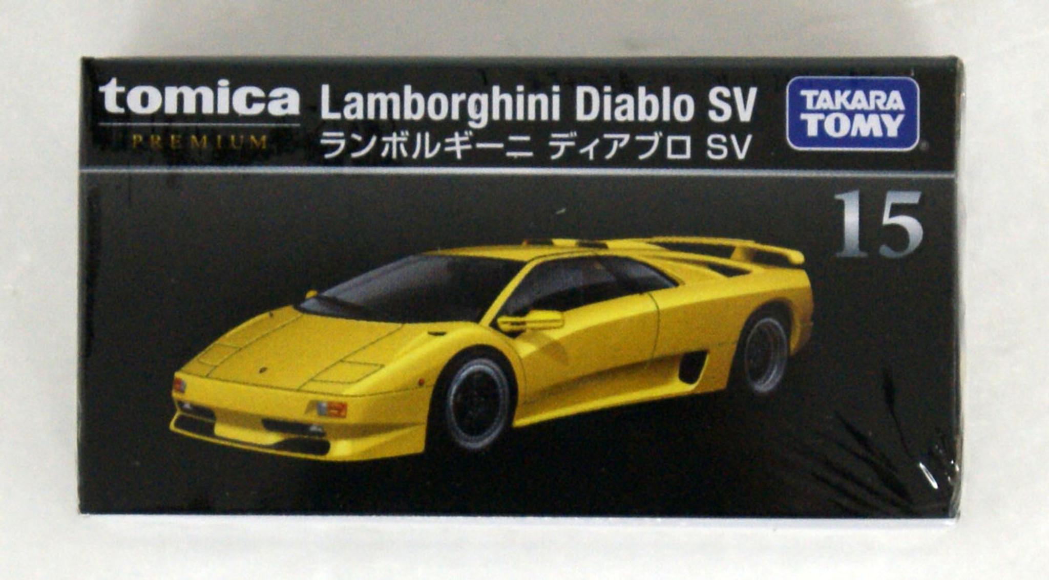 Takara Tomy Tomica Premium 15 Lamborghini Diabl Plazajapan