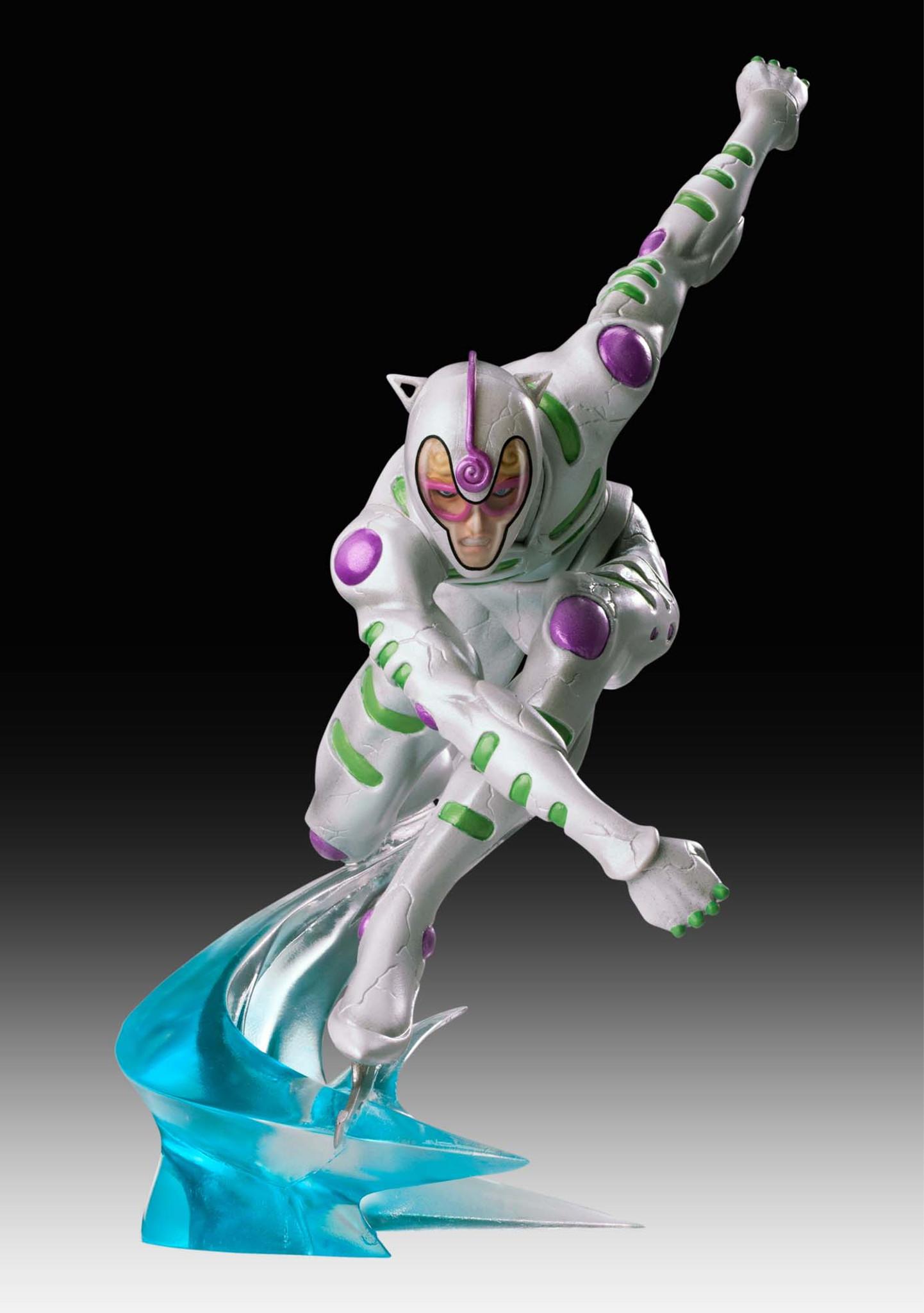Jojo/'s Bizarre Adventure 5 Di molto bene Statue Legend White Album Figure