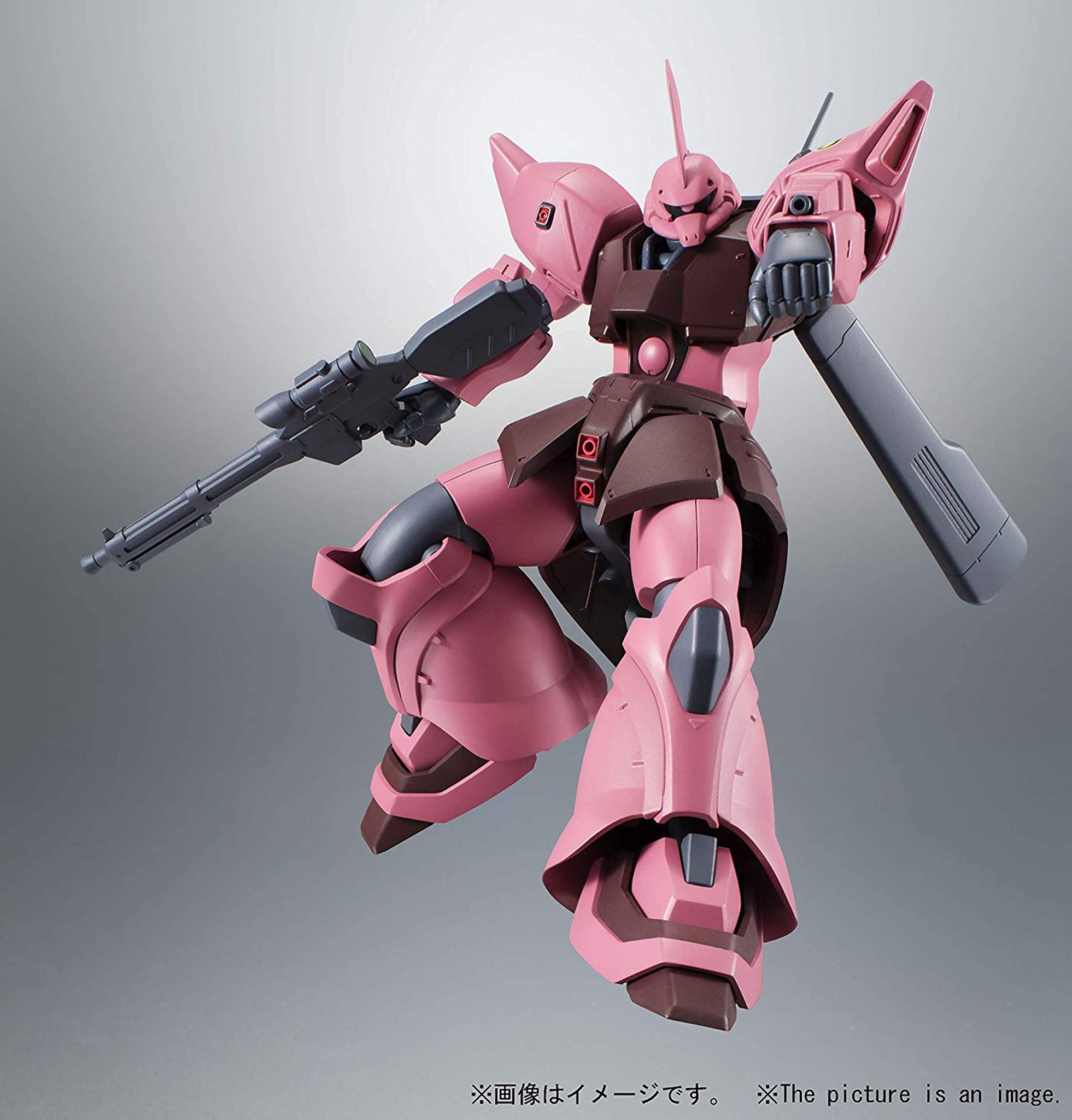A.N.I.M.E w// Tracking NEW Robot Spirits Gundam SIDE MS Zeon Weapon Set Ver