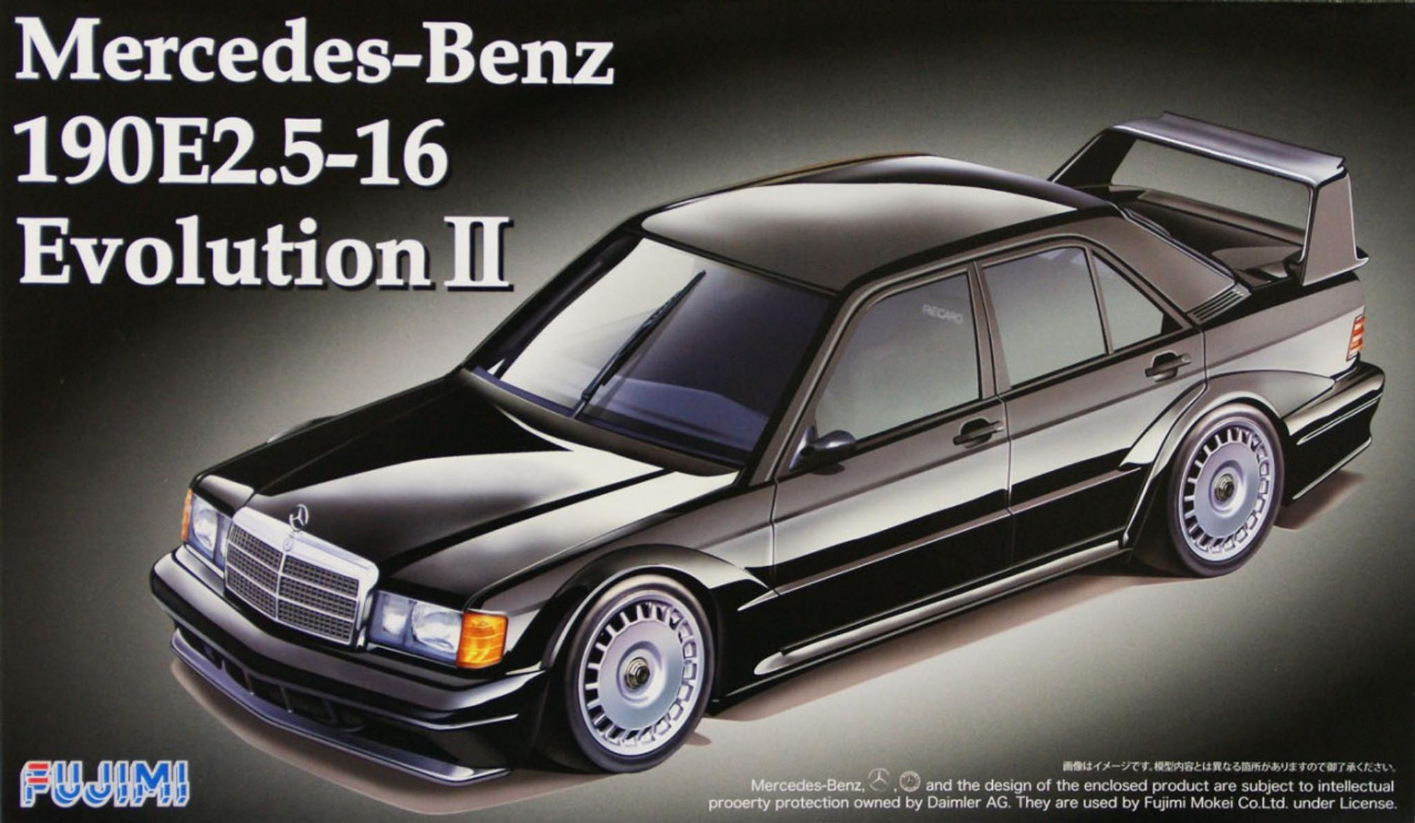 Fujimi RS-14 Mercedes Benz 190E 2 5-16 Evolution II 1/24 Scale Kit