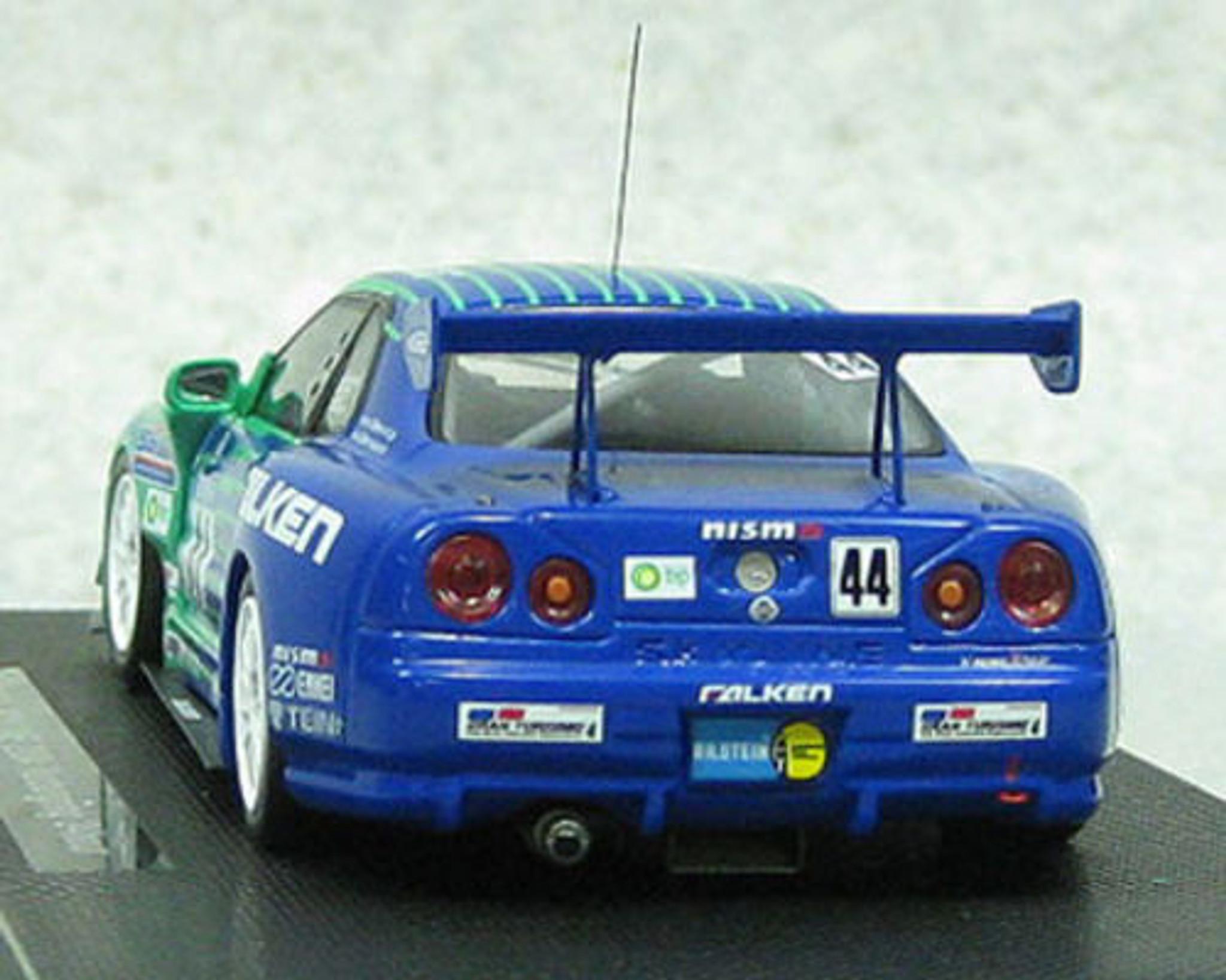 Ebbro 44481 FALKEN Nissan Skyline GT-R R34 # 44 Nurburgring 24H 1/43 Scale