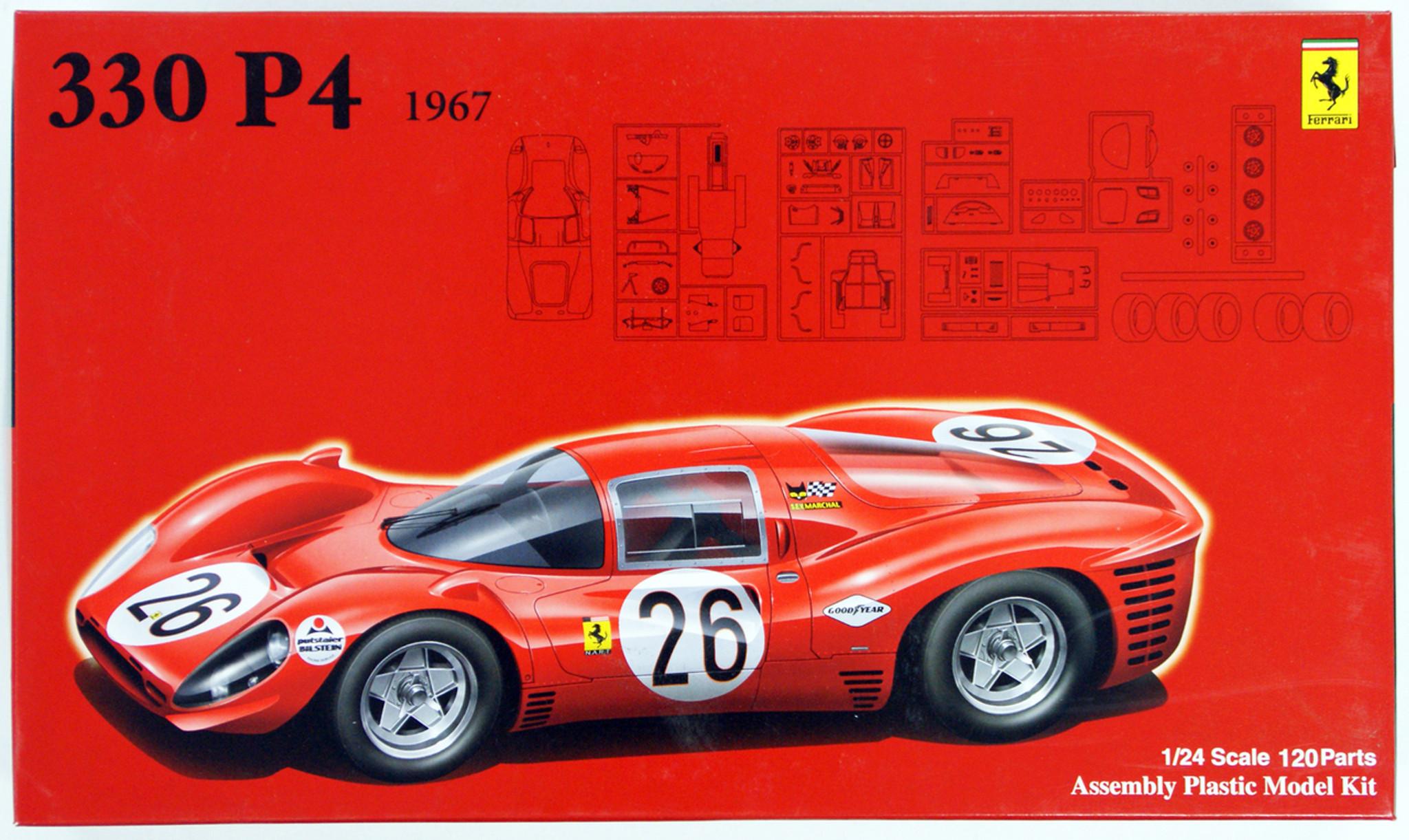 Fujimi RS-48 Ferrari 330 P4 1967 1/24 scale kit