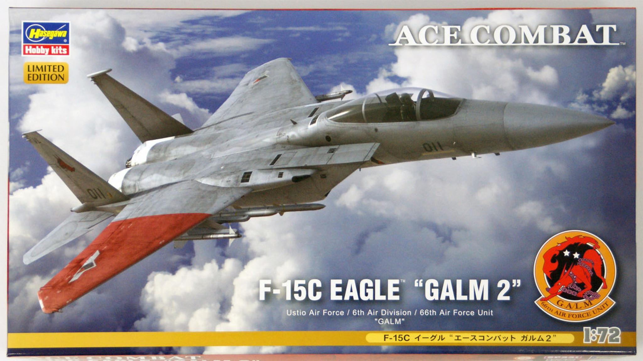 "AIR FORCE/"" 1//72 scale kit Hasegawa E13 F-15C EAGLE /""U.S"