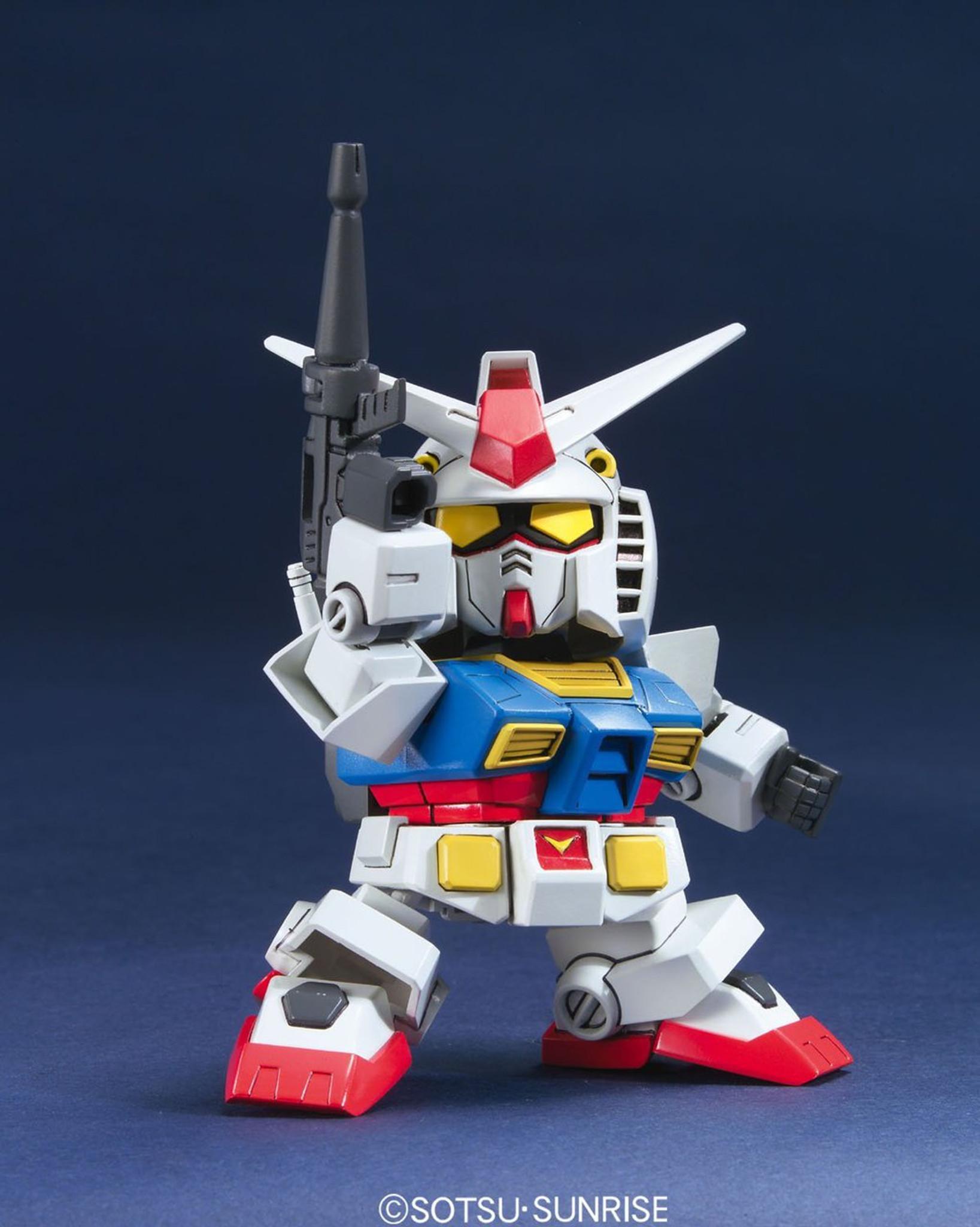 Bandai Sd Bb 329 Gundam Rx 78 2 Plazajapan Original Model Kits V Animation Color Plastic