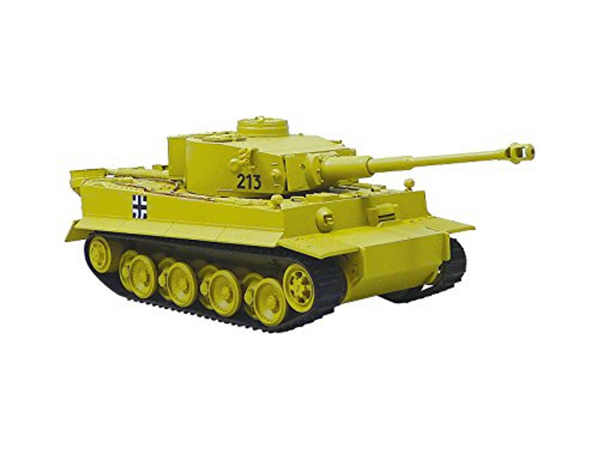 Aoshima 12475 RC AFV Series No  15 Tiger I Early Productions 1/48 Scale Kit