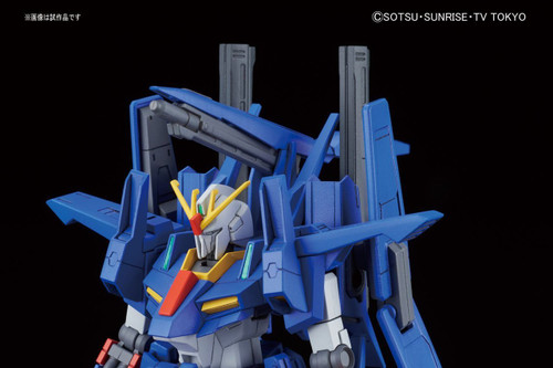Bandai HG Build Fighters ZZ II MINATO SAKAI'S MOBILE SUIT 1/144 Scale Kit