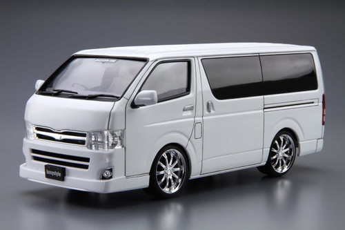 Aoshima 50958 Boxystyle TRH200V Hiace Sper GL '10 (TOYOTA) 1/24 Scale Kit