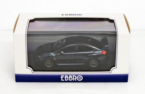 Ebbro 45311 SUBARU WRX STI 2014 (Dark Gray) 1/43 Scale