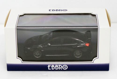 Ebbro 45312 SUBARU WRX STI 2014 (Black) 1/43 Scale