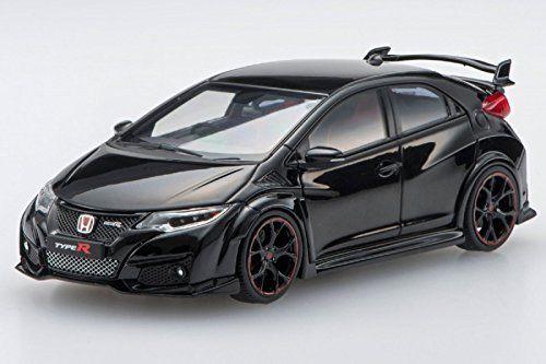 Ebbro 45353 Honda CIVIC TYPE R 2015 Crystal Black Pearl 1/43 Scale