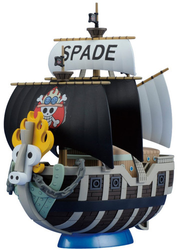 Bandai One Piece Grand Ship Collection Spade Pirates Ship