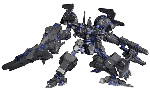 Kotobukiya Armored Core VI080 VERDICT DAY CO3 Malicious R.I.P.3M 1/72 Scale Kit