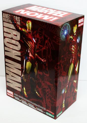 Kotobukiya MK173 ARTFX Iron Man (Red x Gold) PVC Figure 1/10 Scale