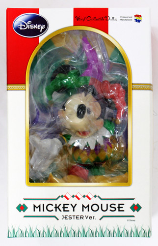 Medicom VCD-174 Disney Mickey Mouse Jester Vinyl Figure